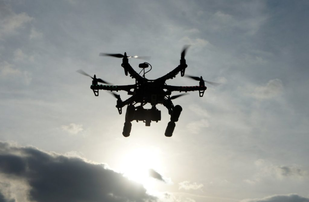 Drone soleil