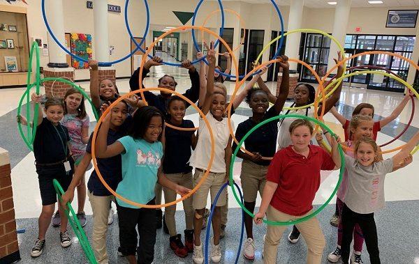 club de hula hoop enfant