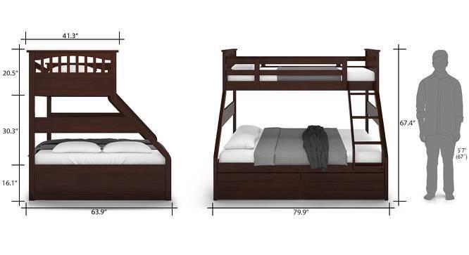 Lit mezzanine ou lit superposé, les différences