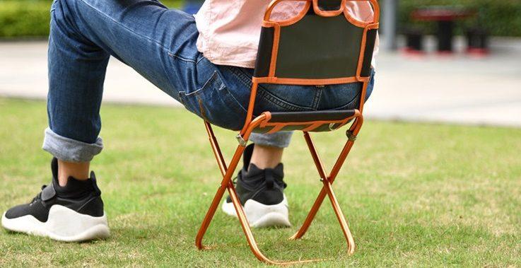 mini chaise de camping portable